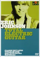 Eric Johnson: Total Electric Guitar (2005, DVD NEW)