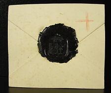 Bellot des Minières Cachet de cire armoiries seal Sceau tampon héraldique
