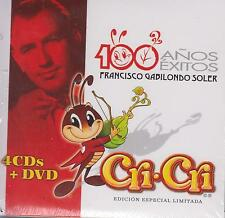 CD - Cri-Cri NEW 100 Anos Exitos Francisco Soler 4 CD's & 1 DVD FAST SHIPPING !