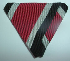 MEDAL RIBBON-GOOD TRIFOLDED RIBBON WW2 GERMAN IRON CROSS FOR WARE BY AUSTRIANS