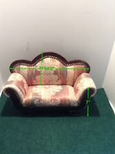 Handmade Crowne Doll Accessories ​Lounge Chair For Collectable Dolls