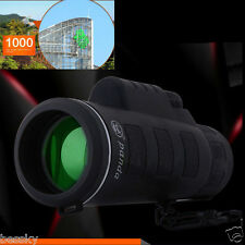 Super High Power 40 X60 Portable HD OPTICS BAK4 Night Monocular Telescope