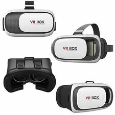 VR BOX 3D VIDEO REALTA' VIRTUALE VISORE OCCHIALI PER SMARTPHONE ANDROID APPLE __