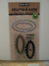 HERO ARTS STAMP & CUTS HANDMADE TAGS CLEAR STAMPS WITH MATCHING DIE-CUTS *LOOK*