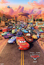 "Pixar - Disney Cars 2 - [ 11"" x 17"" ]  movie - Poster"