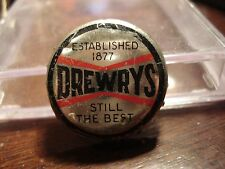 Drewery's Extra Stout -Saskatoon - Canada Cork Beer Bottle Cap - Canadian Crown