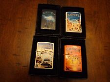 CAMEL SUMMER SERIES II CZ 689-CZ 692 ZIPPO LIGHTER SET OF 4 ZIPPOS