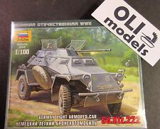 1/100 German Light Armored Car Sd.Kfz.222 - Zvezda 6157
