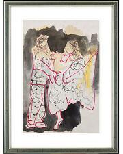 Armin Mueller-Stahl (geb. 1930), gerahmt: Dancing in the street, 2012