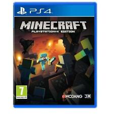 Minecraft Gioco Per Sony Playstation 4 ps4 Nuovo e Sigillato PAL