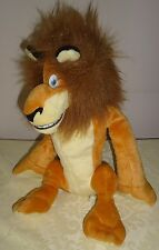 "Dream Works  Madagascar Lion ALEX 13"" stuffed plush"
