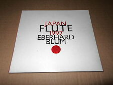 EBERHARD BLUM/JAPAN FLUTE 1997/MATSUDAIRA/SHIMAZU/TAKEMITSU/HOSOKAWA/CD HAT HUT