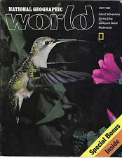 JULY 1981 NATIONAL GEOGRAPHIC WORLD FEATURES ISLAND ADVENTURE ON THE COVER