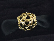 New Authentic PANDORA 24K Heavy Gold Plated Sterling Silver Charm 790964