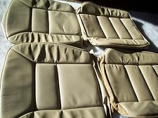 Mercedes Benz W126 chasis S class 89-91 Front leather factory seat covers