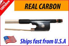 New Genuine Carbon Fiber Cello Bow 4/4 --Black