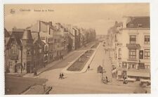 Belgium, Ostende, Avenue de la Reine Postcard, B274