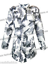 Ladies Women's Summer Festival Camouflage Jackets Sizes Small to X-Large