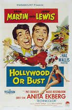 Hollywood or Bust - 1956 - Dean Martin Jerry Lewis Tashlin - Vintage Comedy DVD