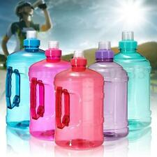 1L 1000ml Sport Big Drink Large Water Bottle Cap Kettle BPA Free Gym Training