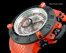 Invicta 50mm Subaqua Noma III Quartz Anatomic Translucent dial Red & Black Watch
