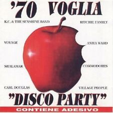 70 VOGLIA DISCO PARTY -  VILLAGE PEOPLE -  SHALAMAR - CD ALBUM 18 TITRES 1994