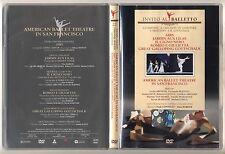 Dvd Invito al Balletto 22 AMERICAN BALLET THEATRE Airs Il Cigno nero Jardin Lila