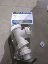 New The Original ADD-A-TRAP Pipe Fitting Plumbing No More Clogged Drains
