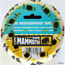 Weatherproof Tape Repair Cracks Glass Plastic safety greenhouse window polythene