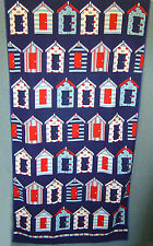 Country Club Navy Blue Beach Hut Towel Microfibre Camping Gym Quick Dry 70x150cm