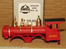 P-240-014 BOWKER BODY W/SMOKE BOX V&T. AHM & RIVAROSSI FACTORY ORIGINAL PART, HO