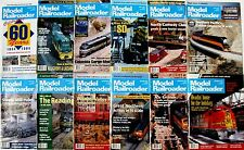 Model Railroader Magazine 1994 - 12 Issues - Complete Full Year