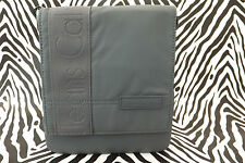 CALVIN KLEIN Small Body Bag CCS001 Grey Pu Flapover Messenger Bags BNWT RRP£55