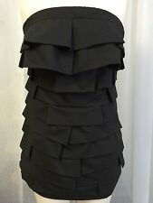 L.R. COLLECTION MINI LBL RUFFLED LAYERED DRESS SIZE JUNIOR MED