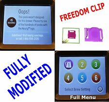 KEURIG K400 2.0 FREEDOM CLIP (FULLY MODIFIED) DRM REMOVAL + FULL HIDDEN MENU