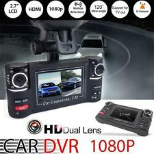 HD Dual Lens Car/Vehicle Dashboard Camera DVR Cam Night Vision Record WT