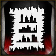 Skylines 2 Airbrush Stencil Template Airsick