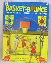 Vintage Basket Bounce Game Smethport Specialty 1970 on Card