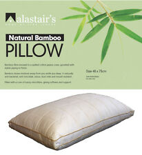 Alastairs Bamboo Fibre Pillow - Standard  Size - Eco Friendly Natural Fibre