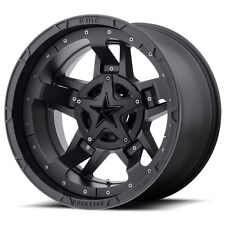18x9 Black wheels rims XD827 ROCKSTAR 3 1990-2016 CHEVY GMC 1500 Trucks 6X5.5