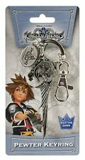 Officially Licensed Kingdom Hearts Riku Keyblade Metal Pewter Key Chain