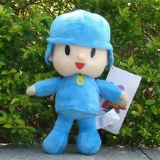 "Pocoyo Plush Toy 10"" Collectible Cuddly Pocoyo Boy Stuffed Animal Doll"