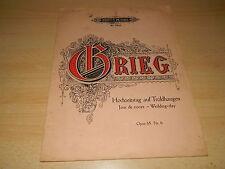 Noten - Klavier - Edition Peters 2922 - Hochzeitstag auf Troldhaugen - Opus 65