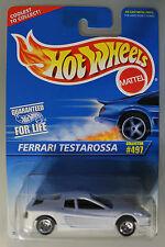 Hot Wheels 1:64 Scale 1996 FERRARI TESTAROSSA (WHITE)