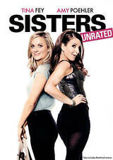 SISTERS (DVD 2016) BRAND NEW~ TINA FEY & AMY POEHLER STAR~ UNRATED~