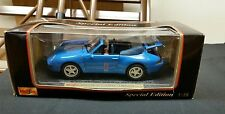 Maisto Porche 911 Carrera Cabriolet 1994 1:18 scale new in box