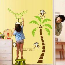 Wandtattoo Affe Wandsticker Wandaufkleber Wanddesign Dschungel Kinderzimmer NEU