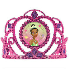 TIANA TIARA Disney Princess & Frog birthday party supplies 1 PINK ELECTROPLATED