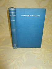 Vintage Collectable Book Of Strength Of Materials, By G. H. Ryder - 1957