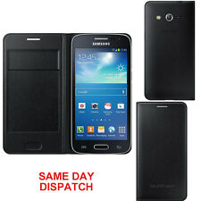 Genuine Samsung FLIP CASE Galaxy CORE SM G386F LTE mobile smart phone book cover